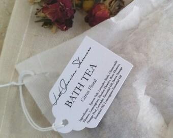 Citrus Floral   Bath Salts & Tea   Jasmine, Passion Flower, Lavender, Chamomile, Orange, Lemongrass   Coconut Milk   Aromatherapy  
