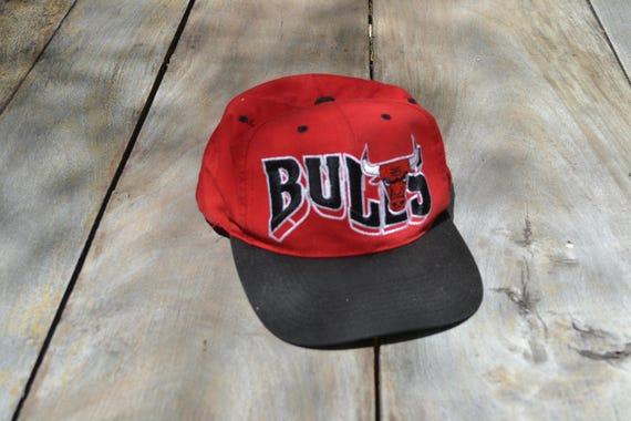 81e6a184f3d Red Chicago Bulls Hat