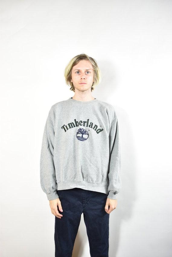 Vintage Grey Timberland Sweatshirt