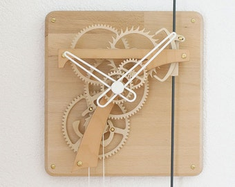 SEPTIMUS Wooden clock kit