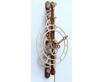 QUARTUS Wooden clock kit