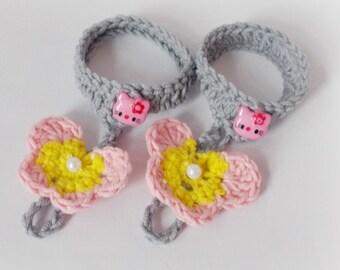 Crochet baby barefoot sandals Butterfly Crochet Butterly Barefoot baby Sandals