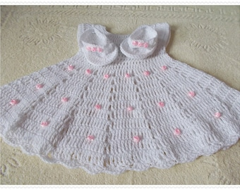 3a853e43e Items similar to White baby dress