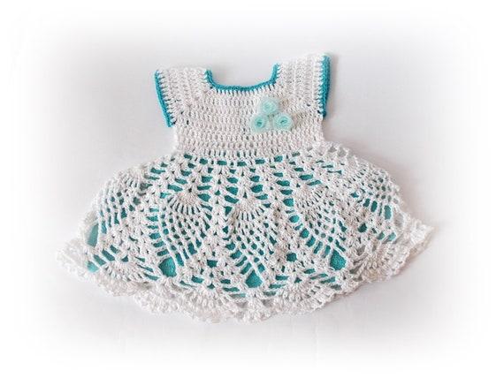 Taufe Häkelkleid Häkeln Baby Outfit Kleinkind Baby Kleid