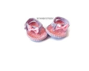 Crochet Baby Flip Flops, Baby Sandals, Pink purple sandals, Baby Flip Flops, Summer Baby Shoes, Crochet Baby Sandles, Girl Sandles