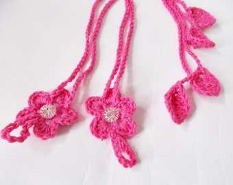 Pink Baby Barefoot Sandals, Crochet Barefoot boho, Newborn flower Sandals, Newborn Photo Prop, Baby Girl flower barefoot