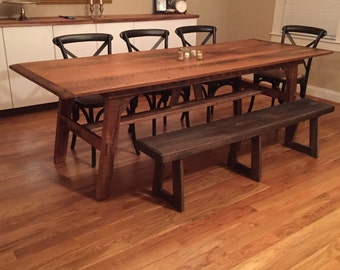 Old Oak Dining Table Etsy