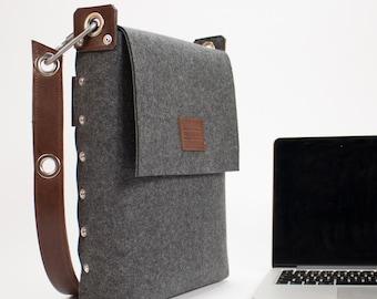 """Laptop bag 13"""", Felt Laptop Bag, Laptop Satchel, Bags & Purses, Electronic cases, Laptop Bags"""