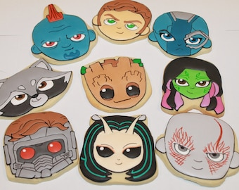 Guardians of the Galaxy cookies