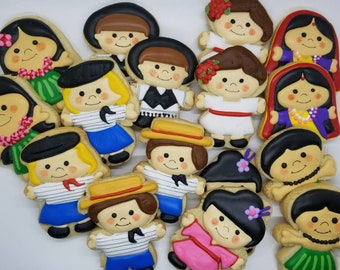 Its a small world cookies  (12)