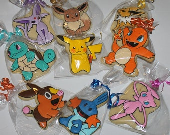 pokemon cookies 12 your choice