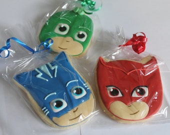 PJ masks cookies 12 cookies