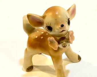 595846fd32b Vintage Big Eye Deer Figurine