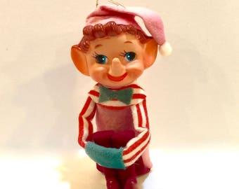641474dd4d1 Vintage Christmas Elf