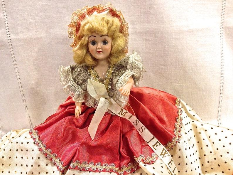 """14/"""" Dolls World Charlotte Nero bambola di dormire occhi Vestito Scarpe Accessori per Capelli"""