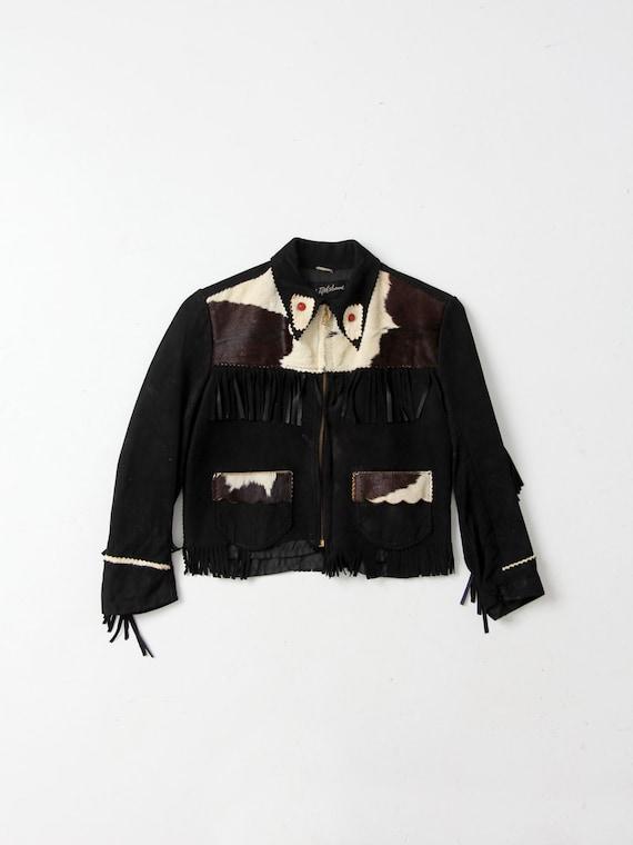 vintage children's western jacket, 1950s Saks Fift