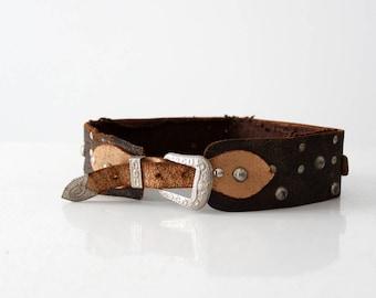 vintage childen's western belt