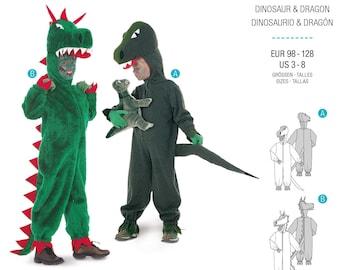 BurdaStyle Pattern for Costume (Dino, Dragon)
