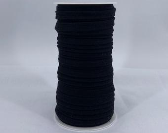 flat cord anthracite grey Hanabi 10 mm