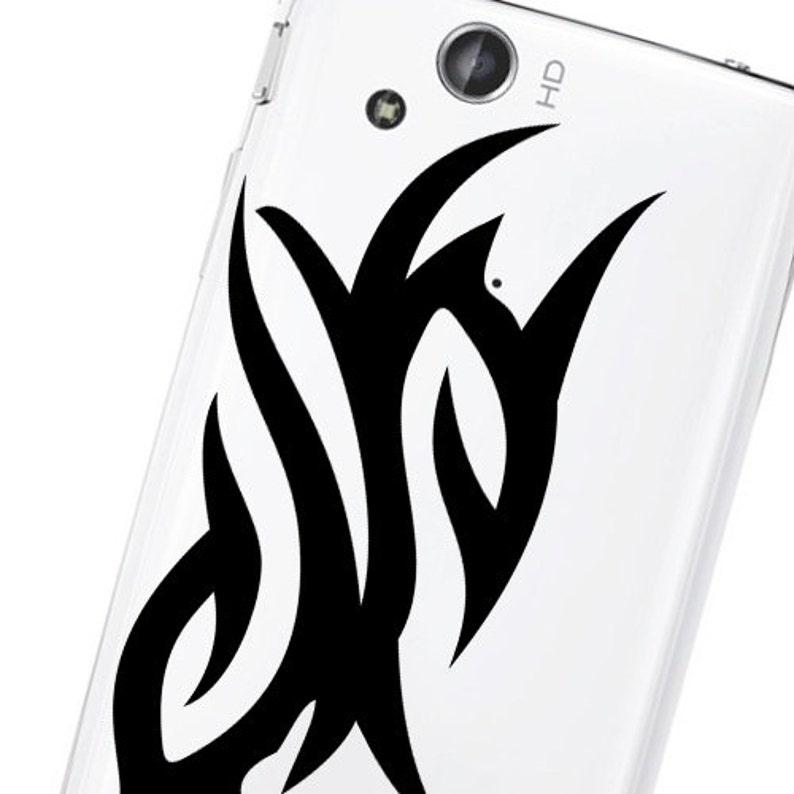 Tribal Phone decal sticker High quality Vinyl iphone sticker or any mobile phone available sizes