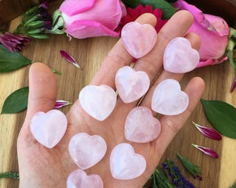 rose quartz heart, quartz Heart, protection stone, healing stone, love stone