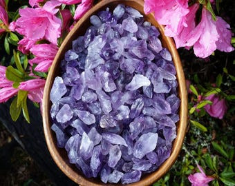 Bulk amethyst, 1 lb, 5 lb, 1/2 lb, loose amethyst, gemstone lot, amethyst gravel, mosaic, decorating stones , diy project, fish tank