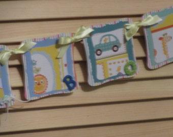 Birthday Boy Banner, Birthday Banner, Happy Birthday Banner, 1st Birthday Banner, Happy Birthday Boy Banner