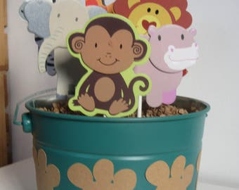 Safari Baby Shower Centerpiece 1st Birthday Centerpiece