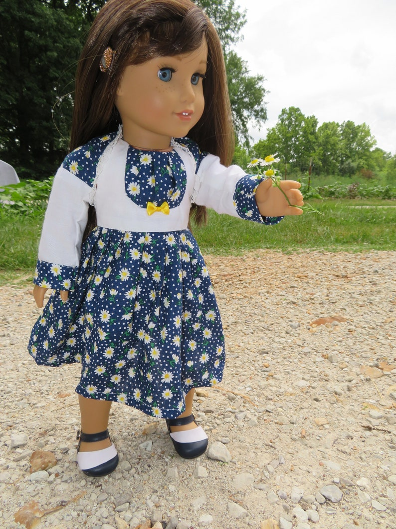 18 Doll Dress and shrug  fits like AG clothes image 0