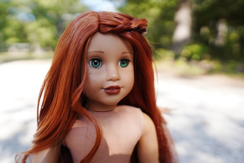 Beautifully Customized Red Head American Girl Doll image 0