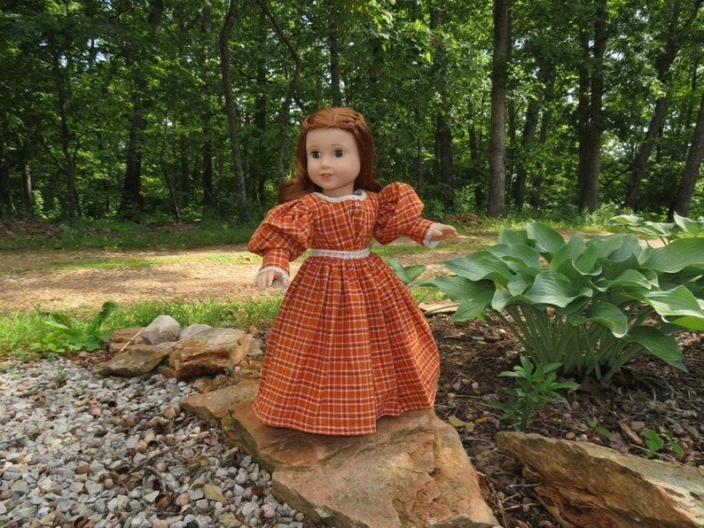 1830's gown for 18'' American girl dolls image 0