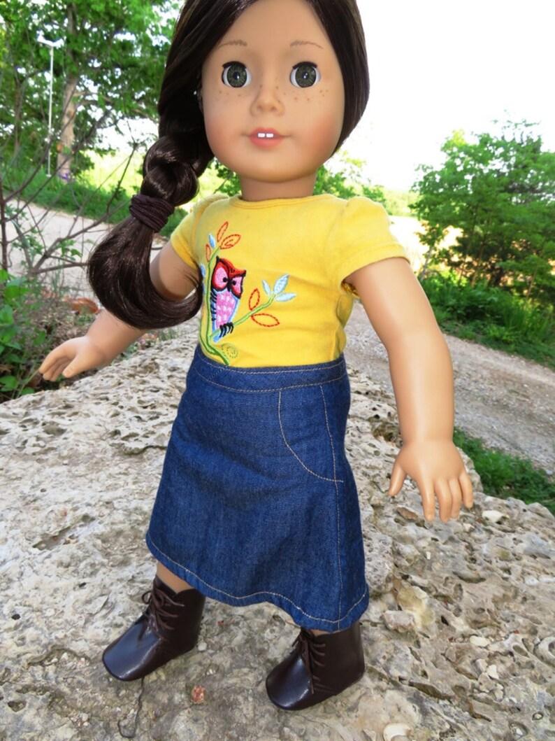 18 Doll Denim Skirt image 0