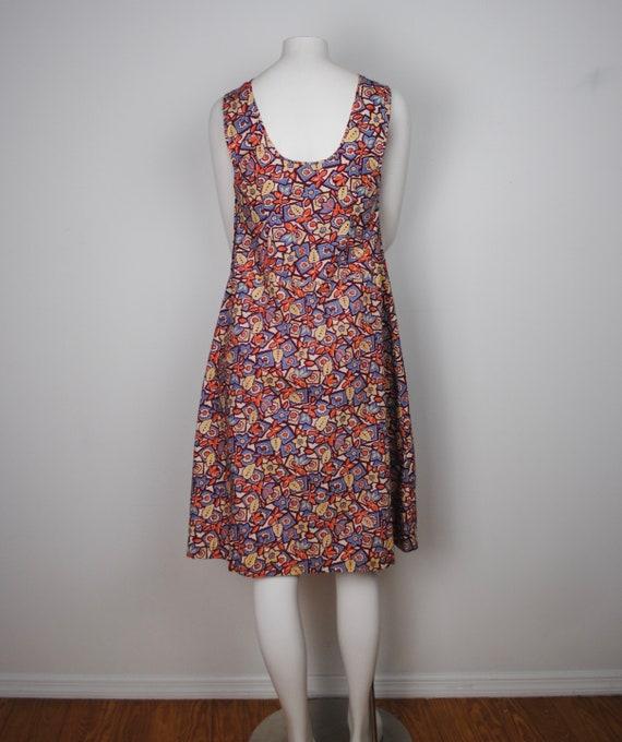30s Cotton Jumper Dress - Vintage 1930s Sleeveles… - image 7
