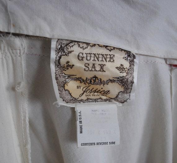 70s Gunne Sax Dress - Rare 1970s Halter Gunne Sax… - image 9