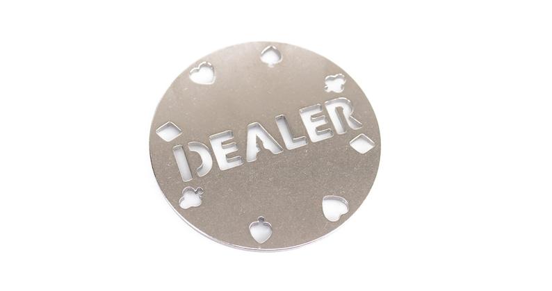 Dealer Poker Chip keychain porte-cl\u00e9s Schl\u00fcsselanh\u00e4nger Gift