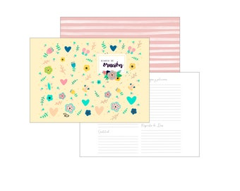 """Digital Planner """"day by day with God"""" - Traveler's Notebook Regular Size (Midori)"""