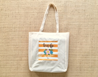 "Tote bag ""Have Faith"" Collection"