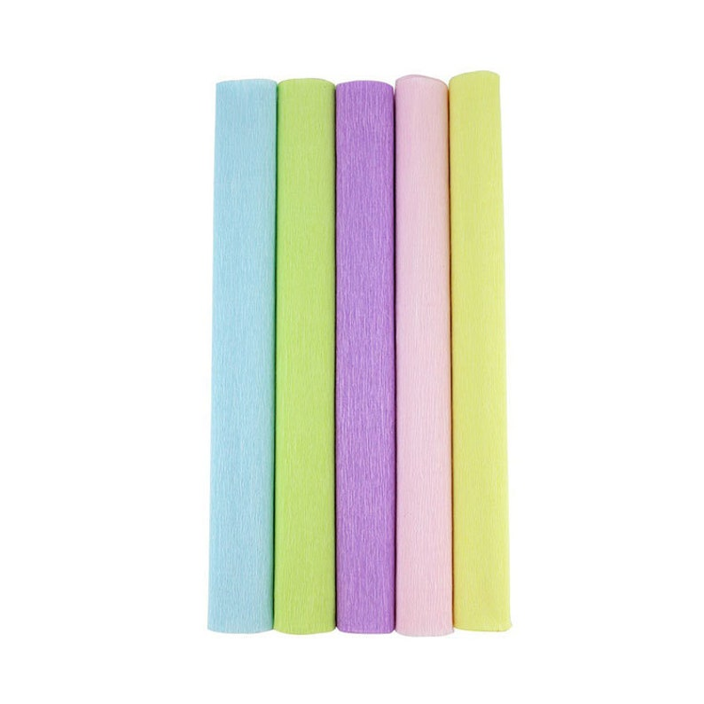 8ft Length//20in Width 6pcs, Color: Shades of Pink Just Artifacts Premium Crepe Paper Rolls