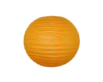 "10"" Orange Paper Lantern Party Decoration - Just Artifacts Brand - Item: RPL100038 - Paper Lanterns for Weddings, Parties, & Home Decor"