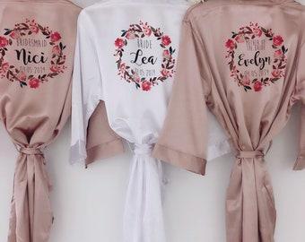 2dad521c11d2 RUBY Silk bridal robes