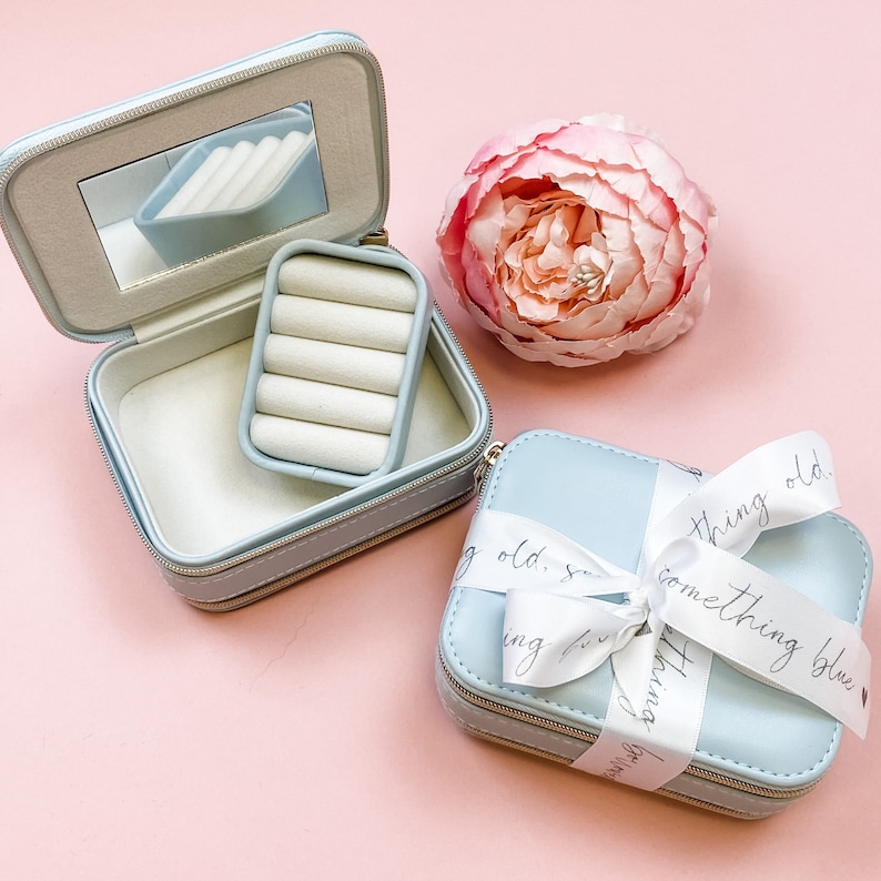 bride gift MIRA BRIDE jewellery box bridal jewellery case