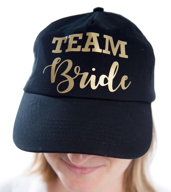 Set of 8 hen party hat, bachelorette party hat, Bride hat with Team Bride hats, bridal shower cap, bride cap, bridal cap