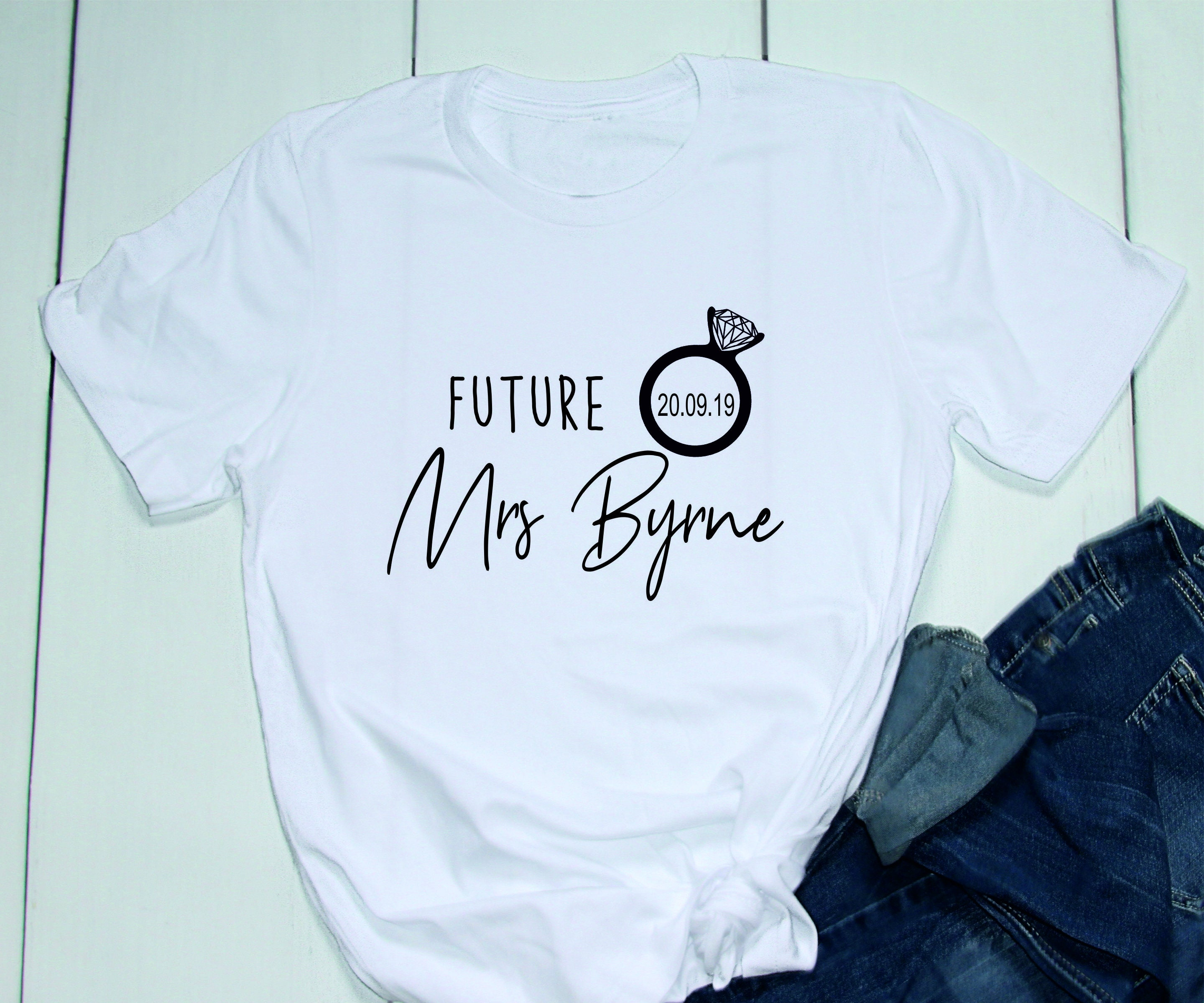 9075096a314c1 Future Mrs T-Shirt, Bride T-Shirt, Future Mrs Outfit