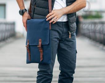 bag crossbody canvas messenger bag school canvas shoulder bag school leather bag messenger bag man waxed canvas bag man crossbody bag navy