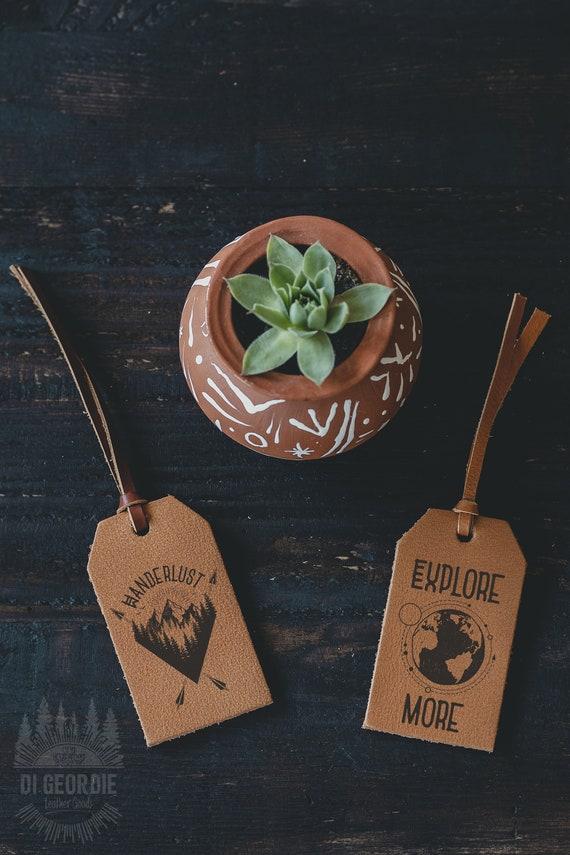 leather luggage tags personalized luggage tag custom luggage | Etsy