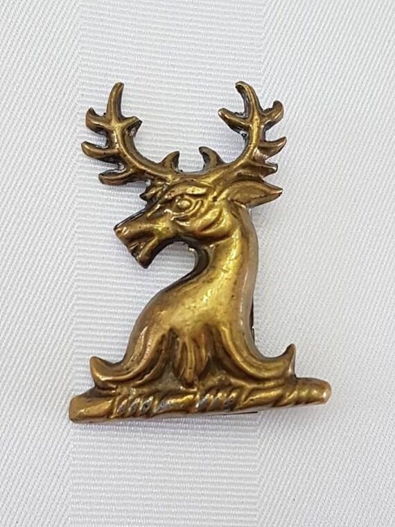 Vintage Japanese Inspired Deer Pin