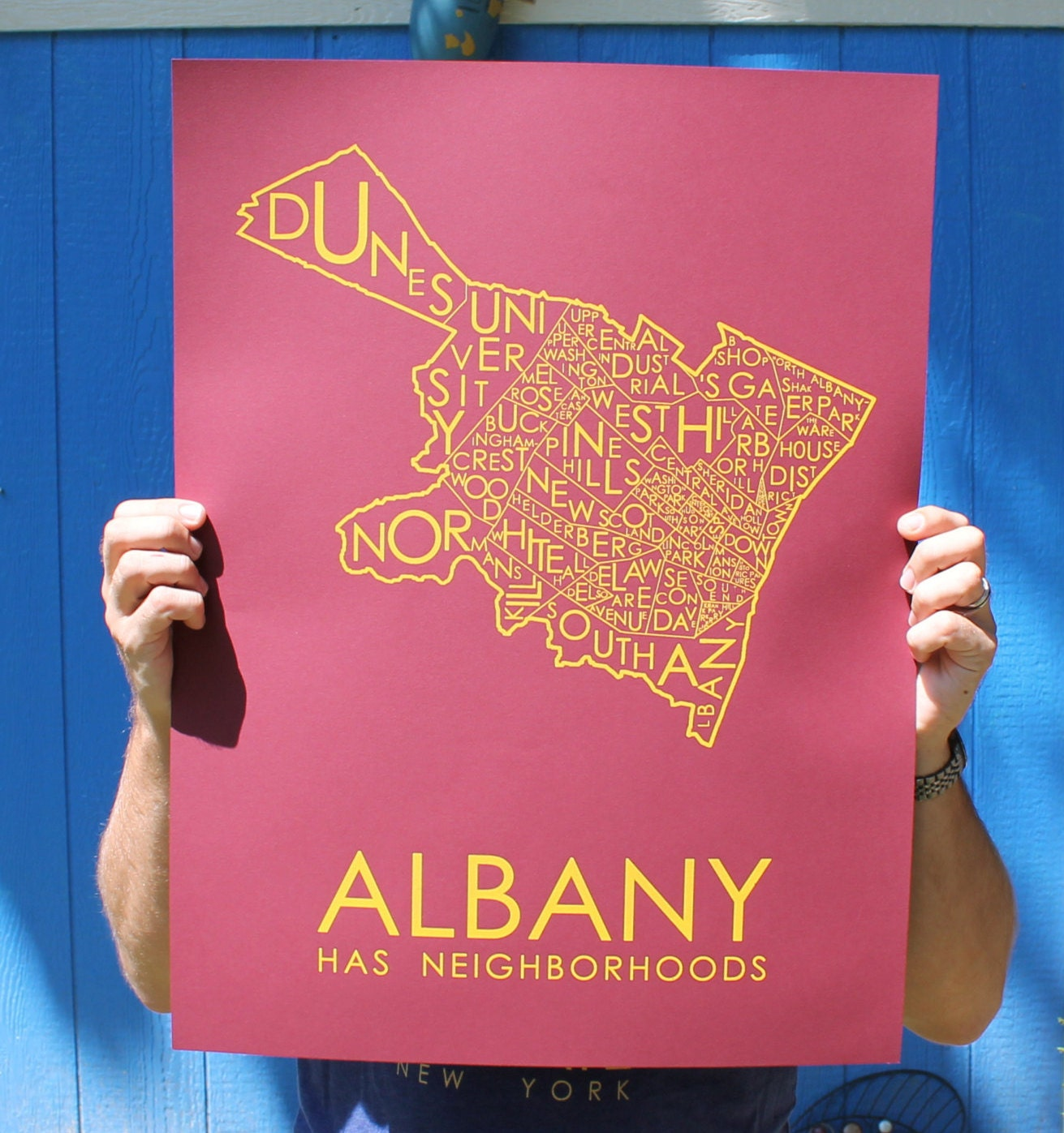 Albany Has Neighborhoods - RED!