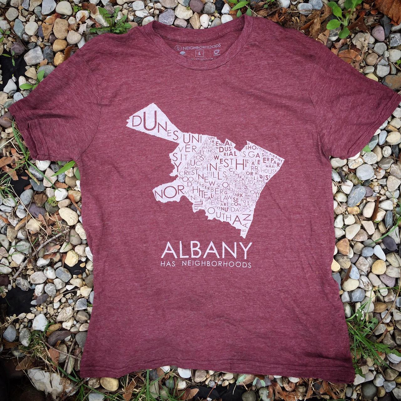 2017 Albany Has Neighborhoods Tee Etsy