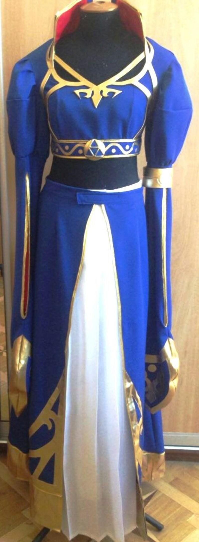 Princess Zelda Breath Of The Wild Royal Dress Zelda Botw Zelda Botw Costume Zelda Botw Cosplay Costume