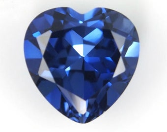 Valentine Gift Heart Shape Blue Sapphire Loose Gemstone 222.25 Carat Natural African Fresh Arrival